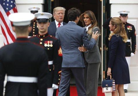 incontri Canada Trump