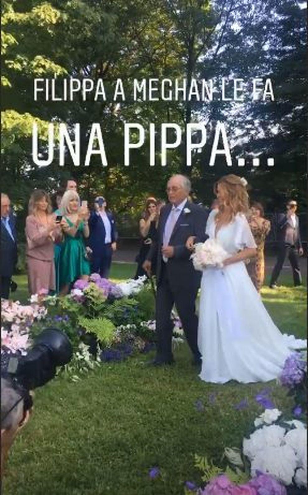 Matrimonio Bossari Lagerback : Fillippa lagerback e daniele bossari sposi in tv barbara