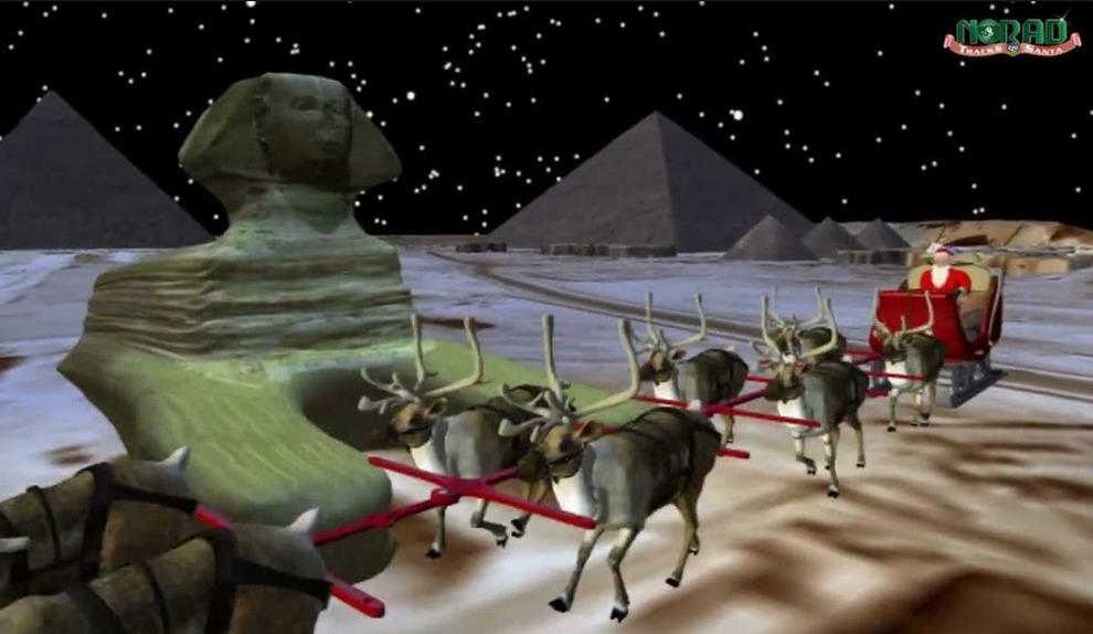 Dove Si Trova In Questo Momento Babbo Natale.Dov E Ora Babbo Natale Ecco Come Seguire Il Suo Viaggio In Diretta Il Mattino It