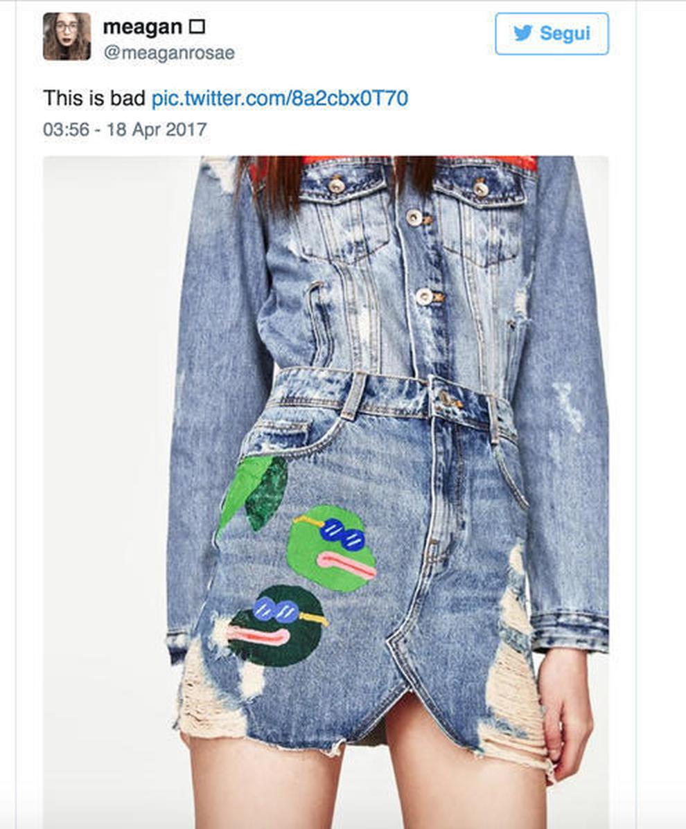 ea467a9900 Zara, gonna jeans ritirata dai negozi: ecco perché | Il Mattino