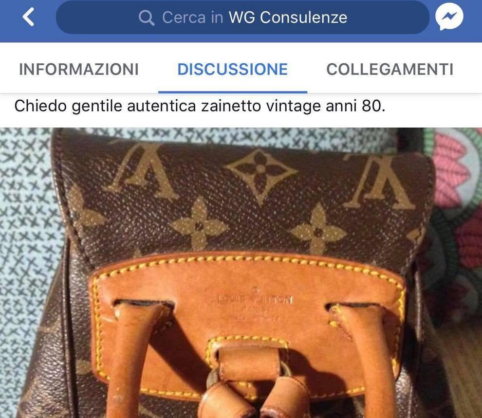 9b62de11b8 Louis Vuitton tarocche in vendita online: WG il primo gruppo web gratuito in  Italia contro i fake | Il Mattino