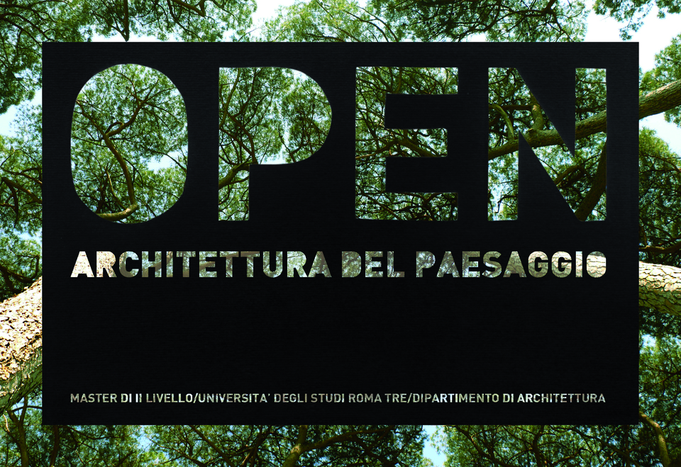 Open Arriva Il Master In Architettura Del Paesaggio Il Mattino