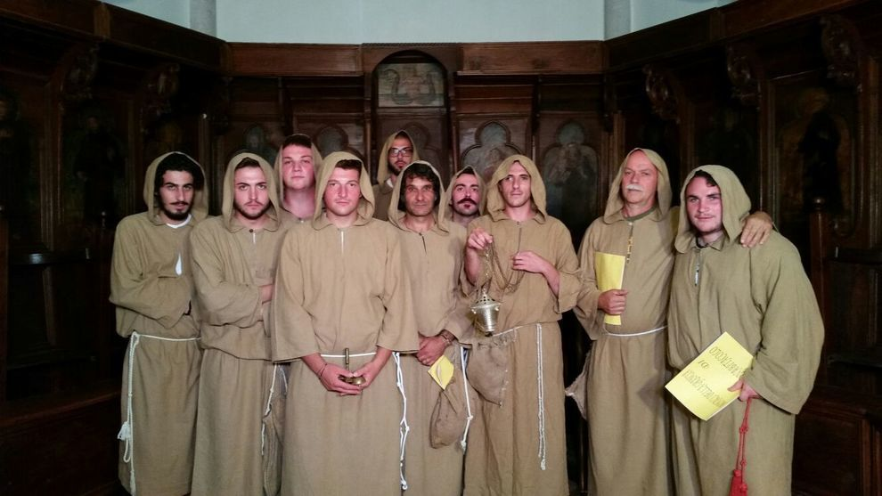 La singolare storia del coro dei Monaci della Grancia di Buonabitacolo