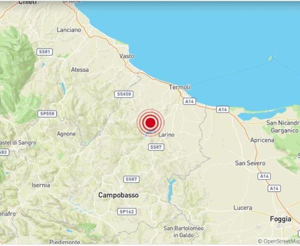 Nuova scossa di terremoto in Molise:avvertita nel Lazio e in Campania