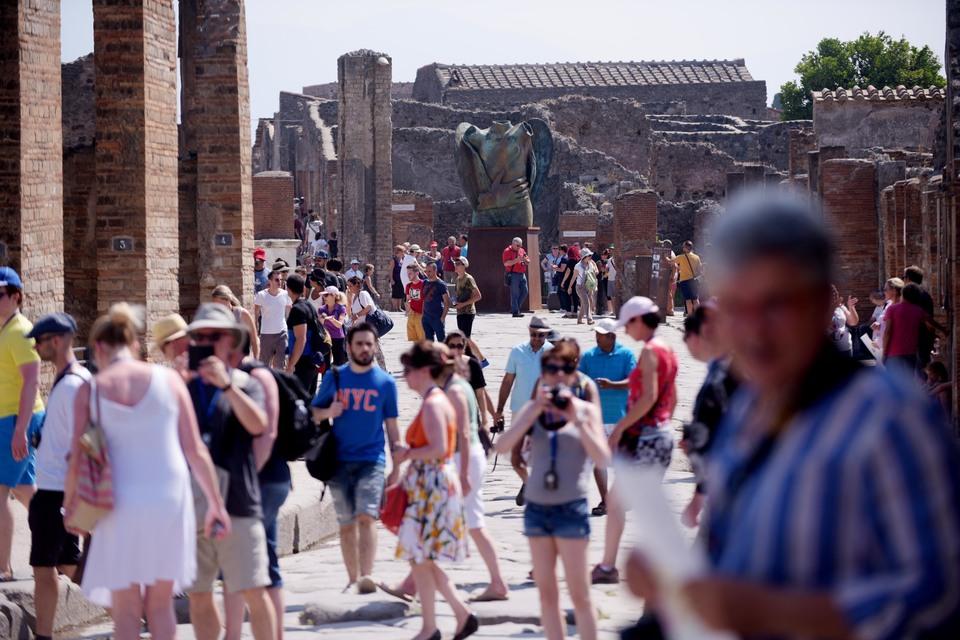 Pompei record, oltre 3 mln visitatori