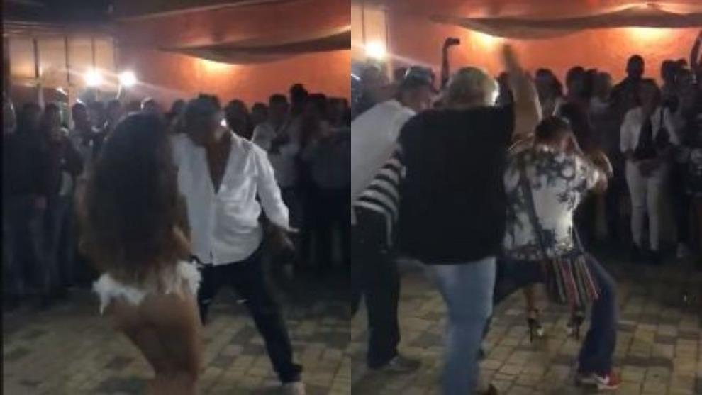 Marito balla con la sexy ballerina la moglie entra in - Video marito porta la moglie a scopare ...
