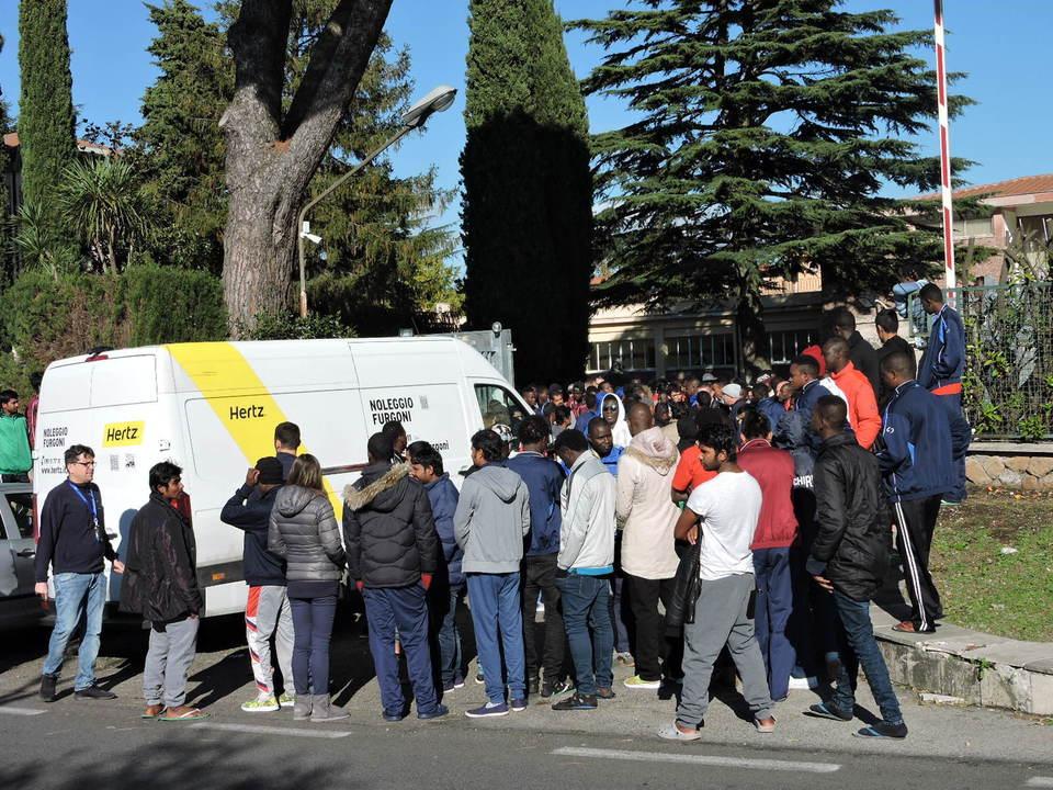 Risultati immagini per rocca di papa migrantii