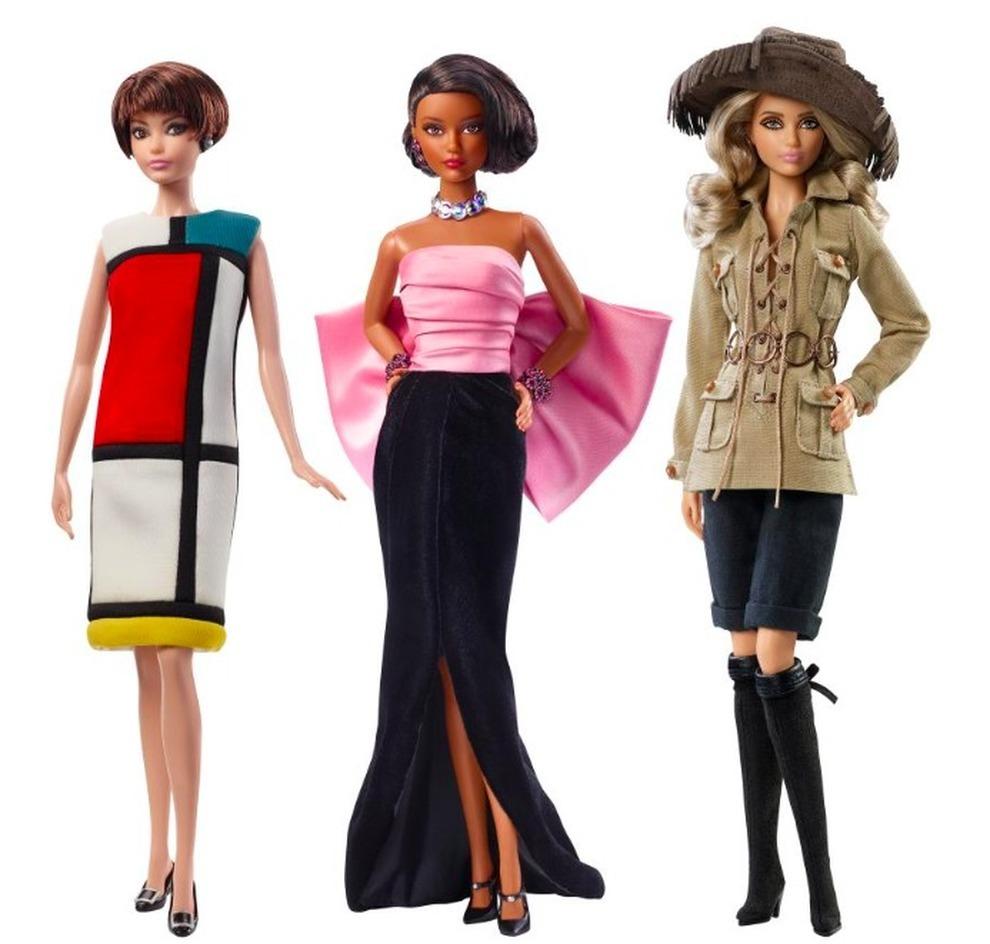 d468020362c7 Barbie veste Yves Saint Laurent  abiti da sogno per la collaborazione con  Mattel