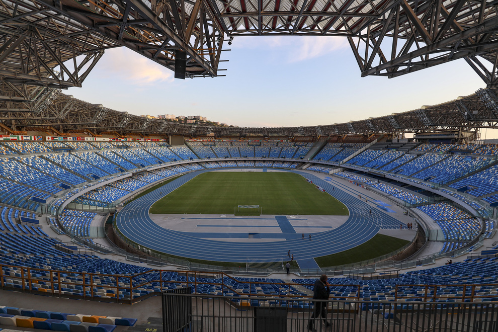Napoli, ecco il nuovo volto dello stadio San Paolo dopo il restyling