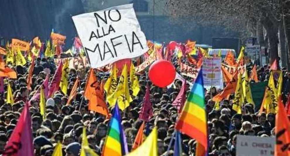 Risultati immagini per foto manifestazione antimafia