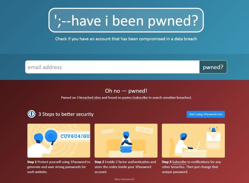 Collection #1, ecco come scoprire se il tuo account email è stato hackerato