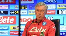 Napoli, l'annuncio di Ancelotti: «Insigne indisponibile a Udine»