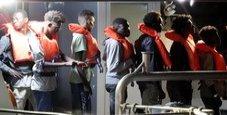 Immagine Sbarco a Lampedusa: soccorsi 29 migranti