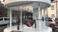 Salerno, l'infopoint per i turisti apre dopo le Luci d'artista
