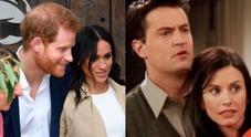 Meghan Markle e Harry soprannominati Monica e Chandler dallo staff: ecco il motivo