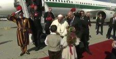 Immagine Il Papa: «Troppe divisioni tra cristiani il mondo ha bisogno di unità»