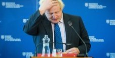Immagine Il dirigibile di Johnson sulla marcia anti-Brexit