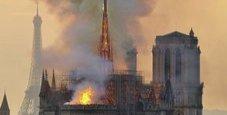 Immagine «Notre Dame, nostri operai fumavano su impalcature»