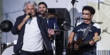 Immagine Bennato diserta M5S: «Sono senza voce»