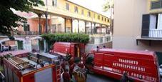 Immagine Roma, rogo al Policlinico: evacuati due piani
