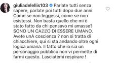 Giulia De Lellis arrabbiata dopo la fine della storia con Damante, Facchinetti la consiglia: «Tornerai a sorridere»