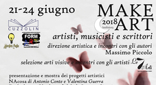 Make Art festival, libri e musica nel cuore di Napoli