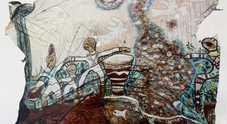 Linda Kunik espone per «Mangiafoglia in Arte»