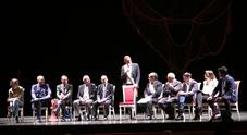 Al San Carlo l'evento per Vassallo, Cafiero de Raho: «Chi sa parli»