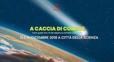 Nel fine settimana, le comete passano su Città della scienza tra laboratori e live show
