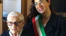Morta a 107 anni Rosa Ercoli, la nonnina terremotata. Diceva: «Ho visto due guerre ma la paura per il terremoto...»