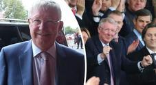 Ferguson ritorna a Old Trafford dopo la convalescenza: è ovazione