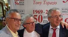 Tony Topazio, il barbiere di Maradona celebra 50 anni di carriera