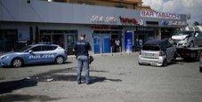 Immagine Sparatoria sulla Casilina, auto in fuga e caos