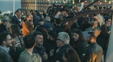 Napoli «Architects party», 400 invitati da Gnosis sulla terrazza vista Golfo