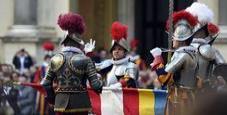 Immagine Vaticano, giurano le guardie svizzere