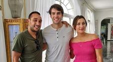 Vacanze capresi per l'ex calciatore del Milan Kakà