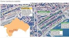 Napoli, fine del caos a Chiaia: via Caracciolo riapre alle auto