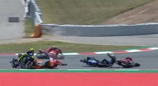 Moto Gp Catalogna, Lorenzo fa strike e stende Dovizioso