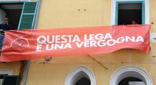 Striscione anti-Salvini a Salerno,  l'indagato: ho detto ciò che penso