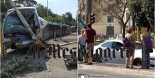 Immagine Incidente tram a Roma, donna ferita