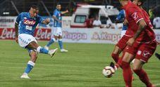 Napoli-Carpi live: 2-0, lampo di Allan e primo gol in azzurro per Inglese