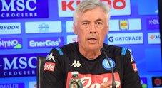 Napoli, Ancelotti ha voglia di stupire: «Mercato da dieci, vogliamo vincere»