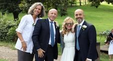 Anton Emilio Krogh e Michele, nozze in campagna con la Pavone e Cirinnà