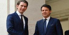 Immagine Summit Italia-Austria, Kurz a Palazzo Chigi