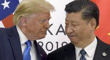 Dazi, la Cina annuncia: «Sui prodotti Usa imposizioni per 75 miliardi di dollari». Giù Wall Street