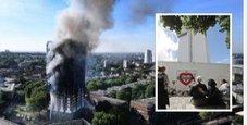 Immagine Londra, esplode incendio in un grattacielo