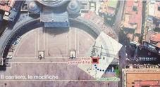 Cantiere al Plebiscito, l'intesa è vicina: le grate spostate di dieci metri