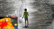 Previsioni Meteo, caldo africano sino a 42°: bollino rosso domani in 6 città, venerdì in 16