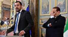 Consultazioni, i sospetti di Salvini: «Berlusconi punta al governo tecnico»
