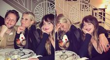 Gwyneth Paltrow e Dakota Johnson, risate tra amiche a cena
